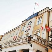Budynek Urzędu Miasta Zgierza przy pl. Jana Pawła II 16