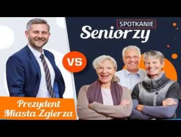 Seniorzy vs. Prezydent Miasta Zgierza – transmisja na żywo
