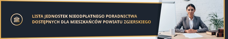 Przejdź do artykułu Lista jednostek nieodpłatnego poradnictwa dostępnych dla mieszkańców powiatu zgierskiego